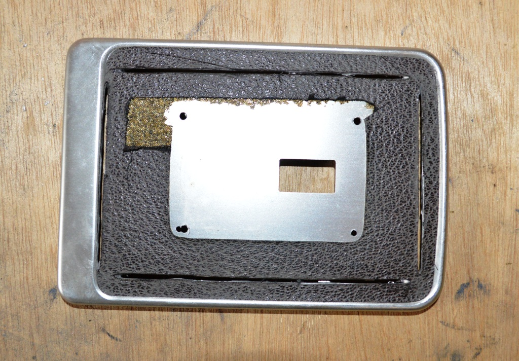 Picture of Making the Hole for the MP3/5 Player  - Step 2