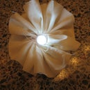 LED Fabric Flowers