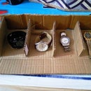 Wrist Watch Box From Card-boxes