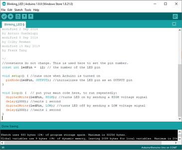 Writing the Arduino Code