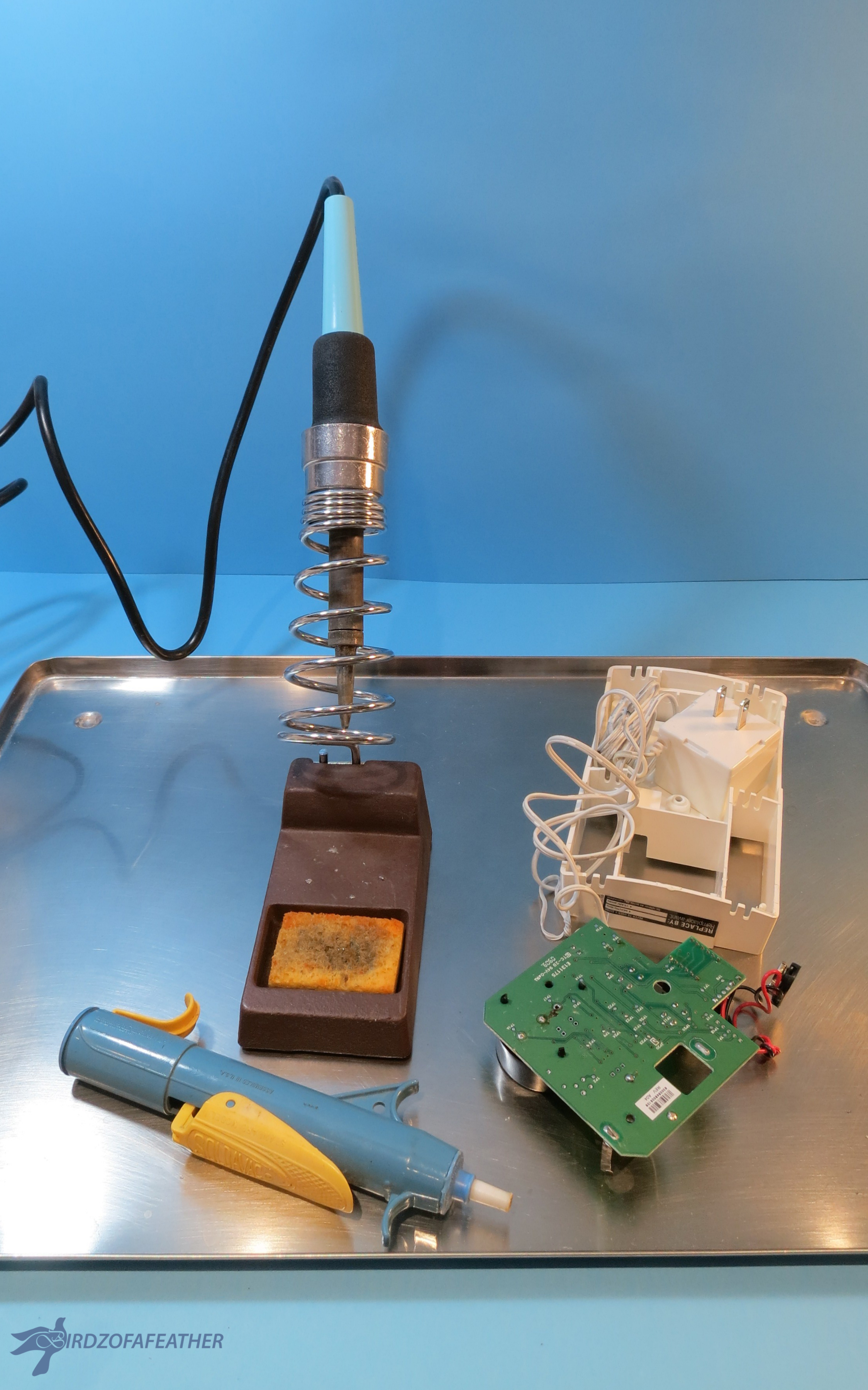 Picture of Prepare Work Surface to Desolder
