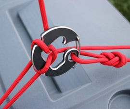 Gear Harness Carabiner. Auto Release.
