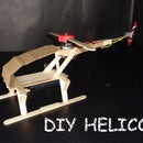 Make a Popsicle Stick Helicopter