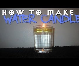 How to Make a Water Candle!