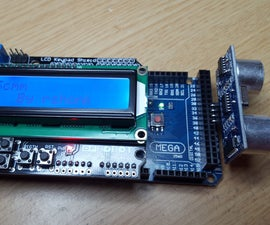 Mega 2560 Compact LCD Ultrasonic