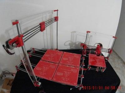 Mega Prusa I3 Rework Vs Normal Prusa I3 Rework