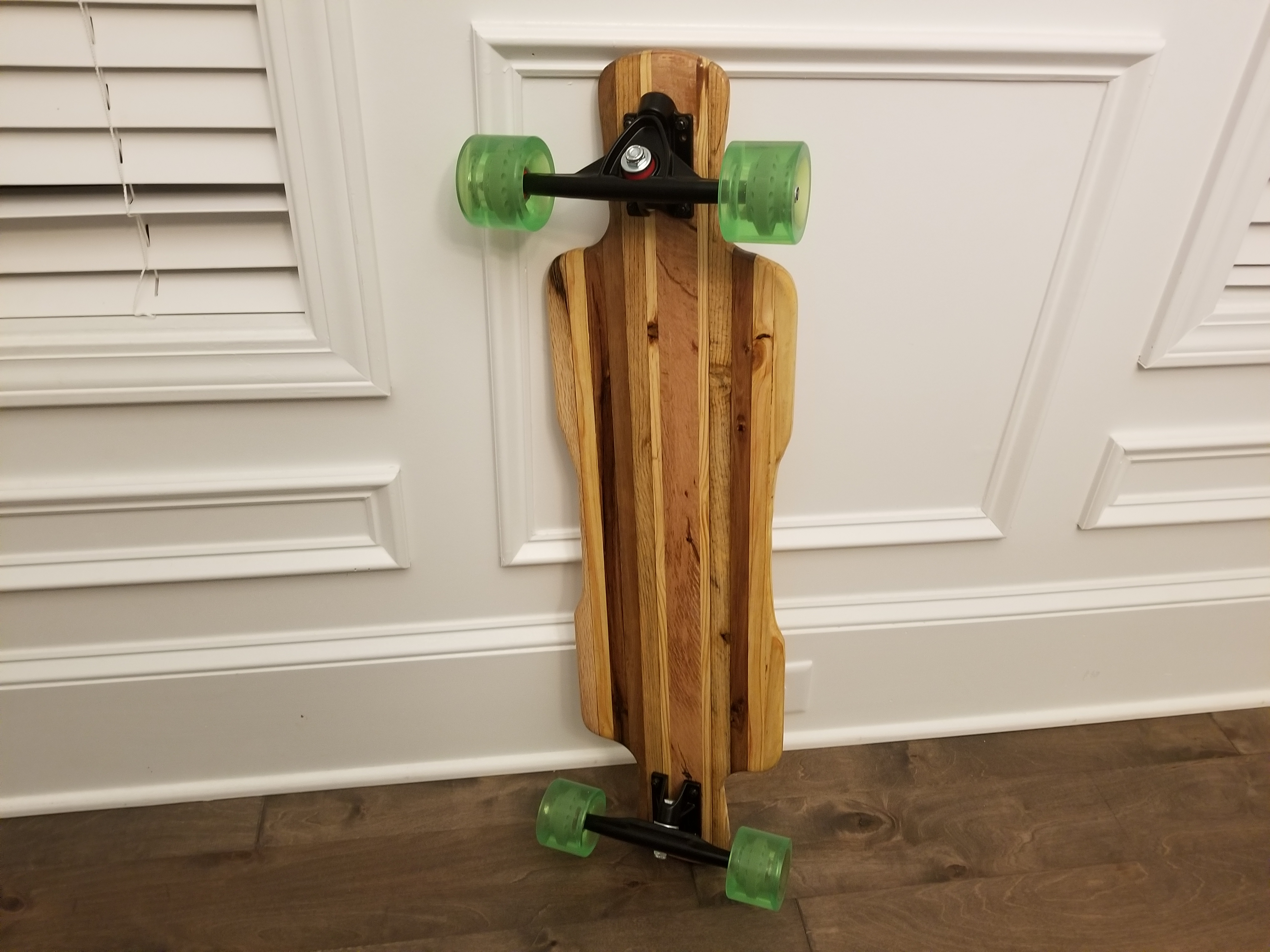 Picture of Build a Long Board From Reclaimed Pallets