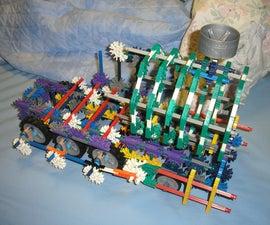 current progress on a k'nex steam locomotive (test)