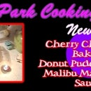Cherry Chocolate Baked Donut Pudding With Malibu Margarine Sauce
