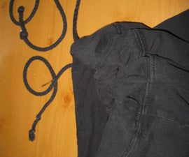How to PERMANENTLY Fix a Drawstring; Also, How to Fix a Drawstring Using a Bad Underwire.