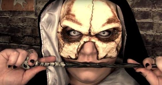 Harry Potter Death Eater Skull Mask Tutorial