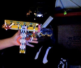 True Trigger Handle/Clip Knex Uzi!  The New 227b
