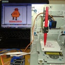 Drawing instructables robot by Mini CNC - Arduino - L293D Shield