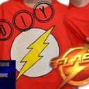DIY The Flash T-shirt | Fituro