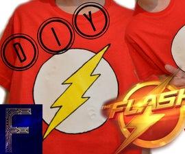 DIY The Flash T-shirt   Fituro