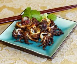 Pan-Fried Squid (Calamari)