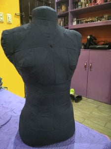 Stuffing the Dress Form
