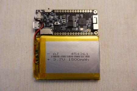 Connect Battery & Dev Board
