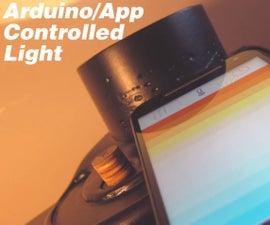 Arduino/App Controlled Desk Light