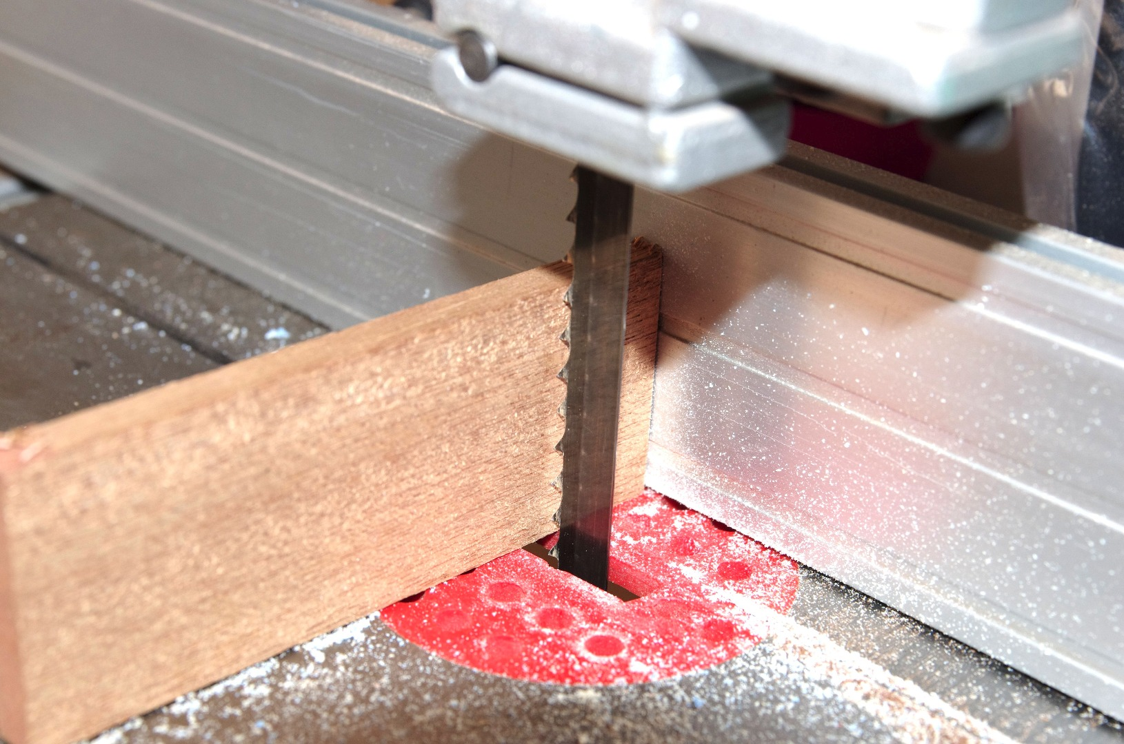 Picture of Making the Wooden Rings for the Jaws