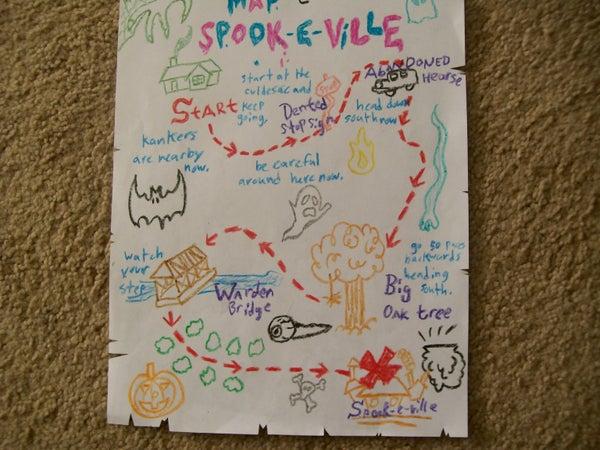 Ed Edd 'n' Eddy: Eddy's MAP TO SPOOK-E-VILLE!