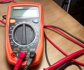 Measure Voltage of Phone Charger Using a Simple Basic Digital Multimeter