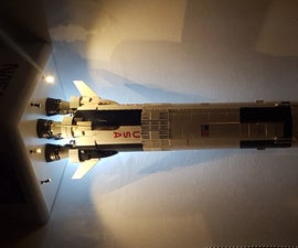 Arduino Powered Lego Saturn V Launchpad