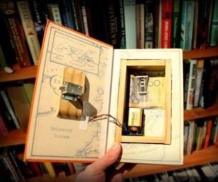 Book Safe With Hidden Magnet Lock