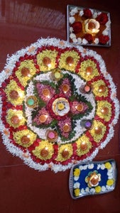 Diya Decoration to Be Used on Festivals