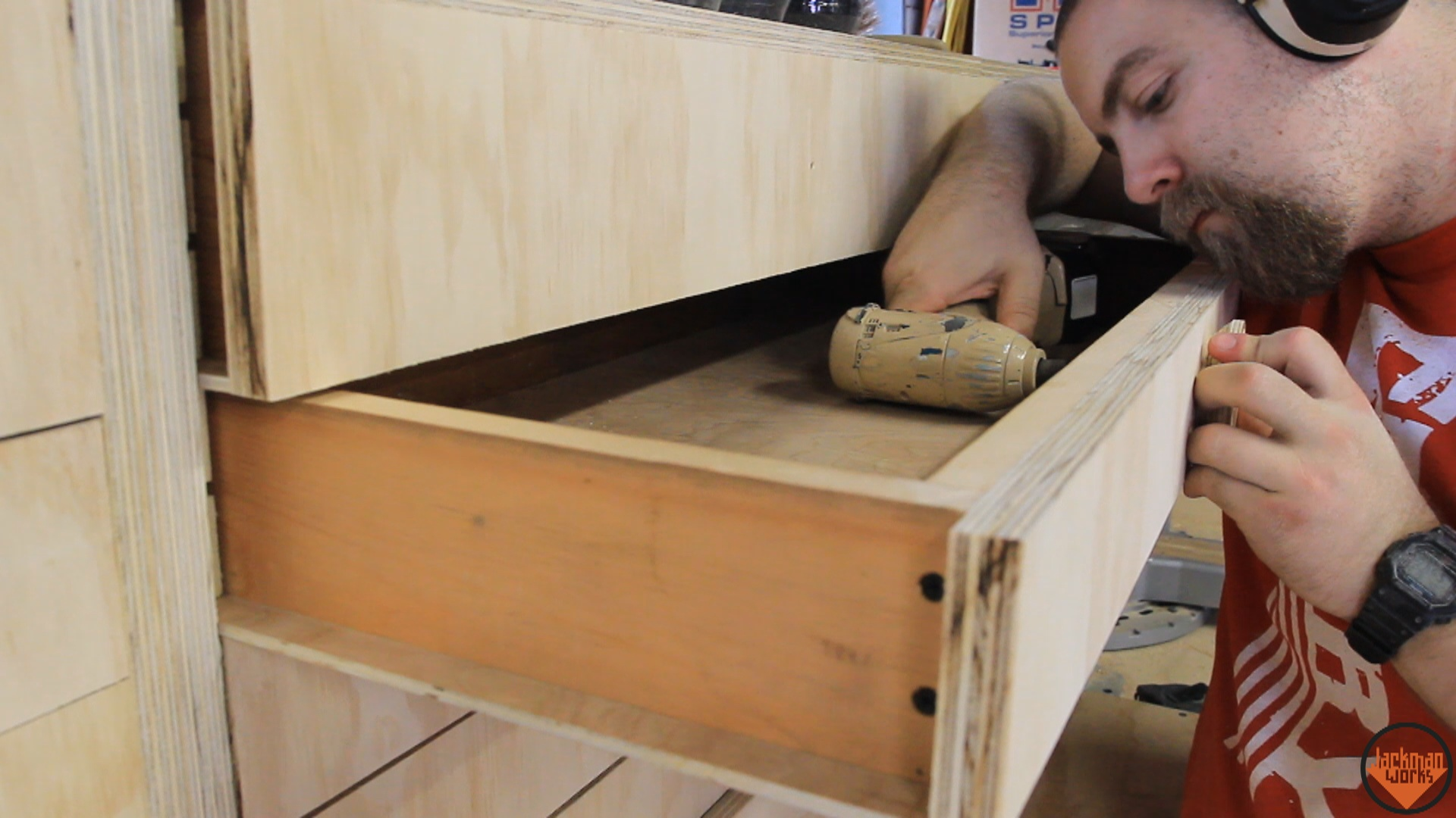 Picture of Drawer Faces and Pulls