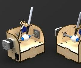Laser Cut Sphere-O-Bot