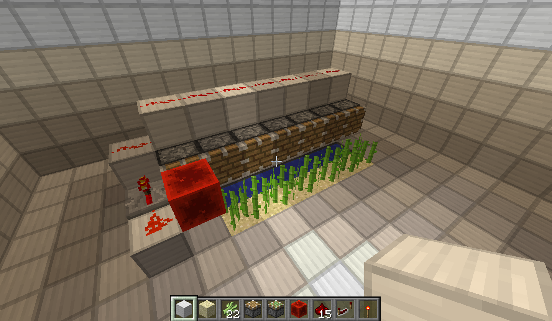 Picture of Minecraft Auto Sugarcane Harvester