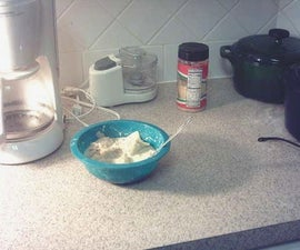 Super easy homemade coffee maker pasta.
