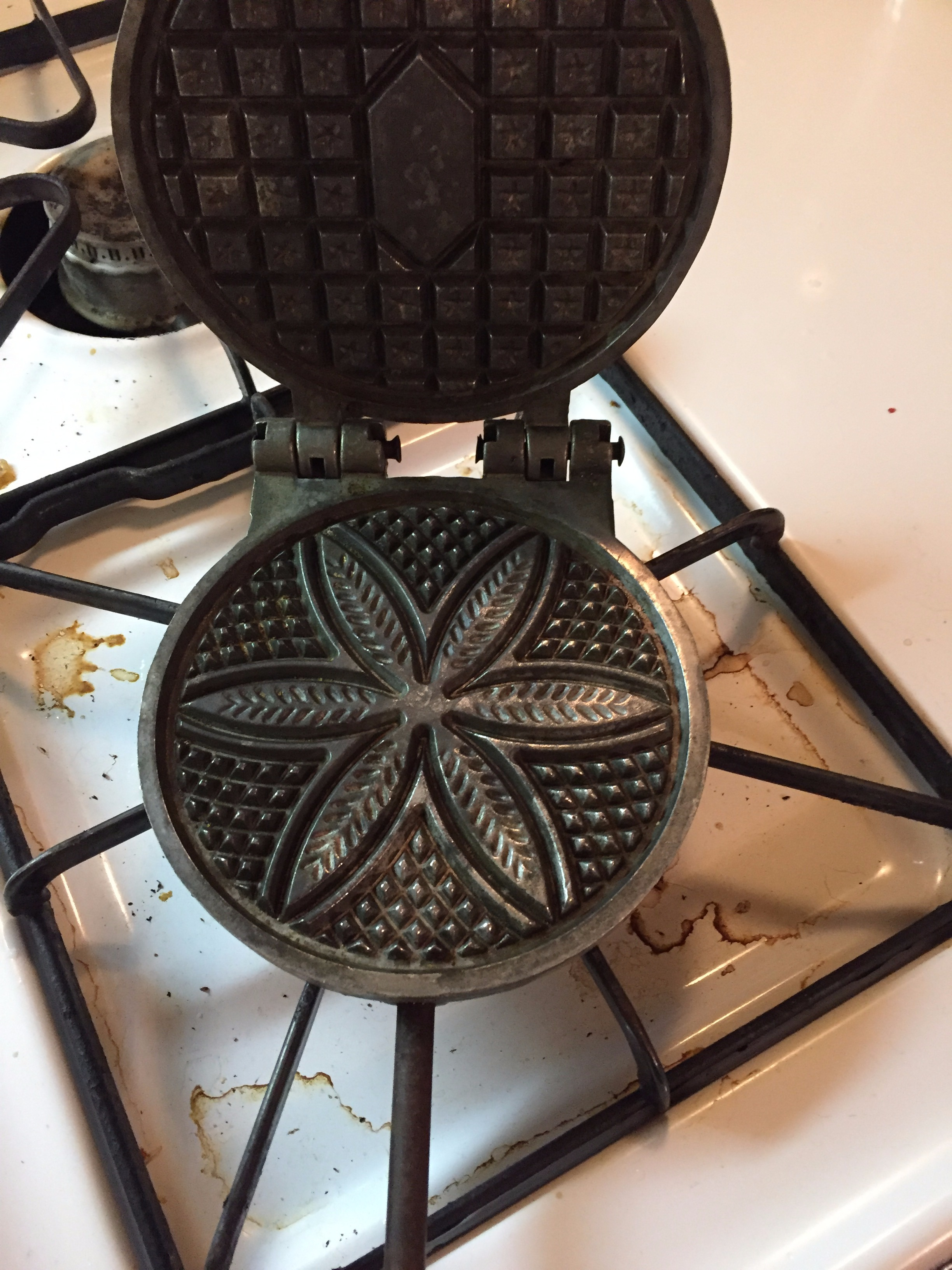 Picture of Making the Pizzelle's