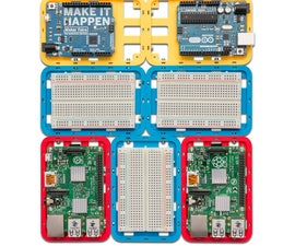 3D Printed Modular Support (Case) for Arduino and Raspberry Pi - CustoBlocks