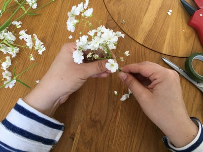 Gather Flowers in Clusters