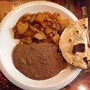 Mexican Hash Or Chorizo Con Papas (Mexican Sausage w Potatoes)