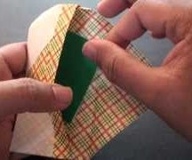 How to make an origami Gift Envelope (Note Case)!