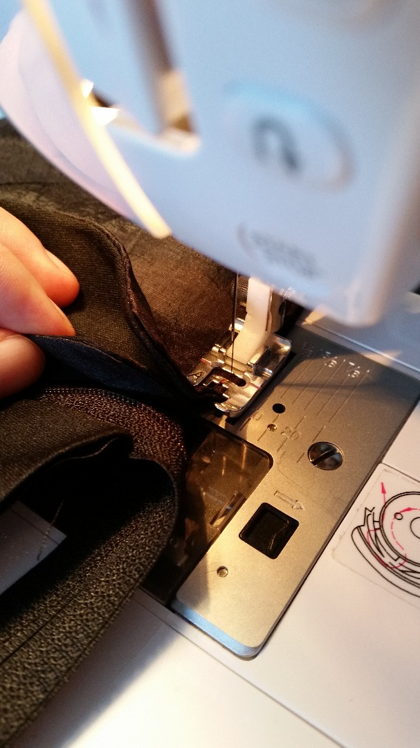 Picture of Adding the Zipper (Part Two)