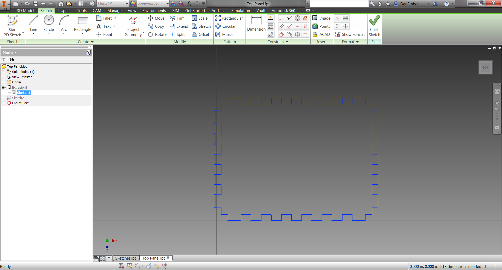 Picture of DXF to 3D Components
