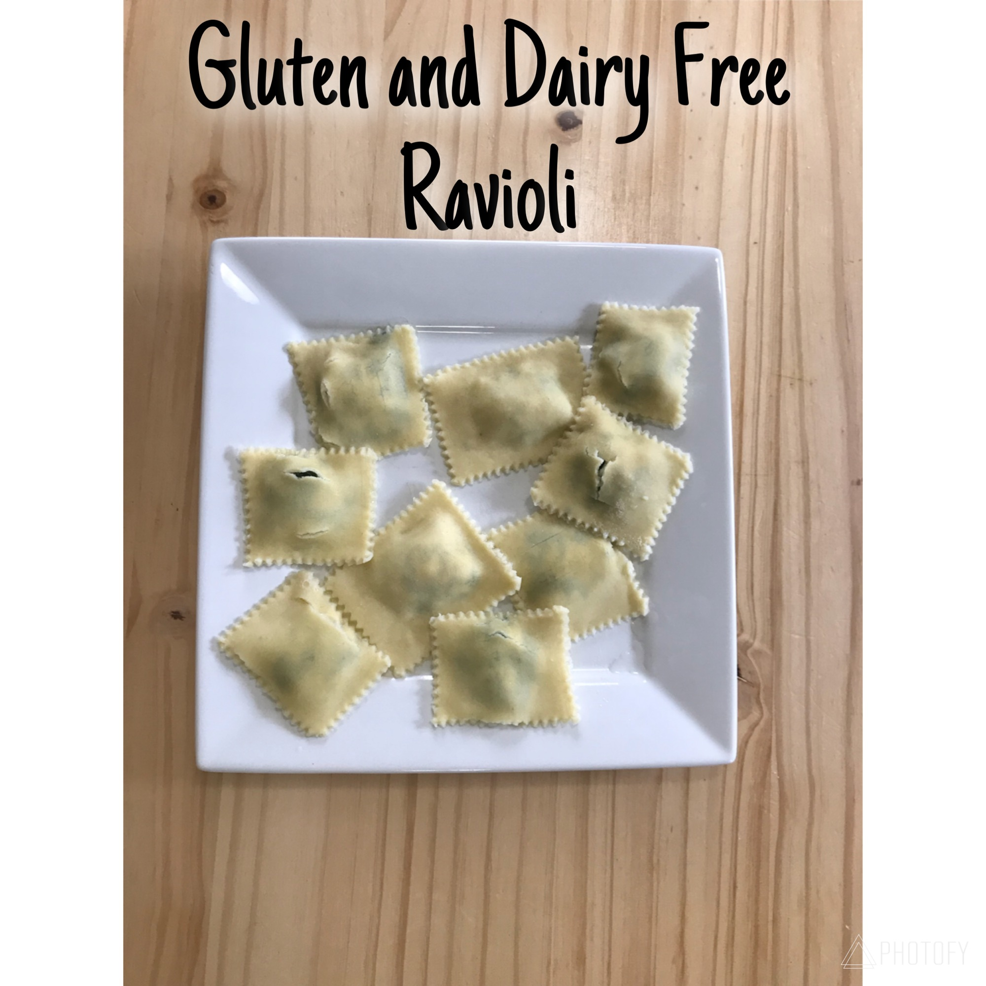 Picture of Easy Gluten/Dairy Free Ravioli