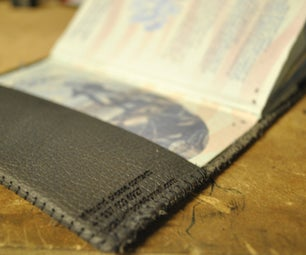 How to Make a Leather Passport Cover (with Laser Cutter)