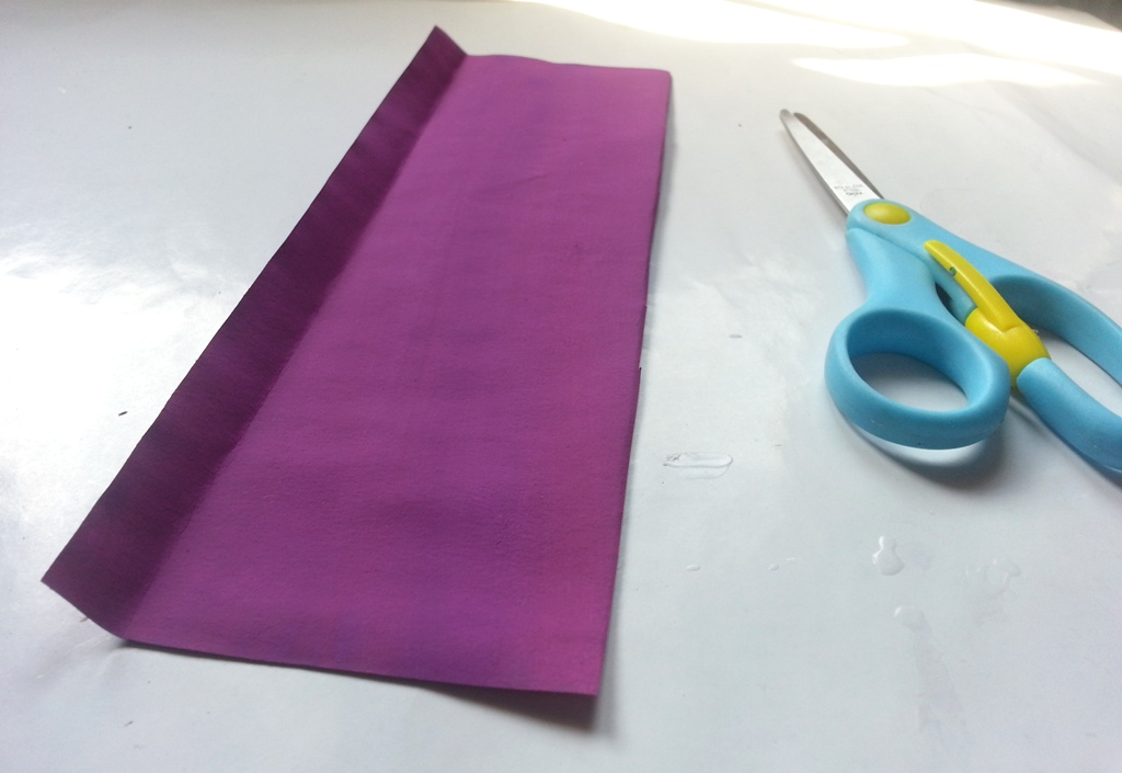 Picture of Preparing Paper Strips