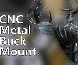 CNC Plasma Cut Deer Head