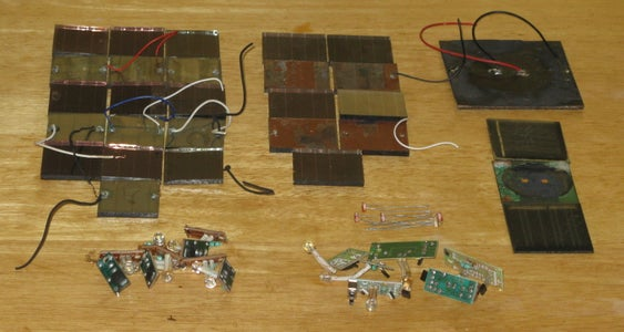 Disassemble and Sort the Solar Cells