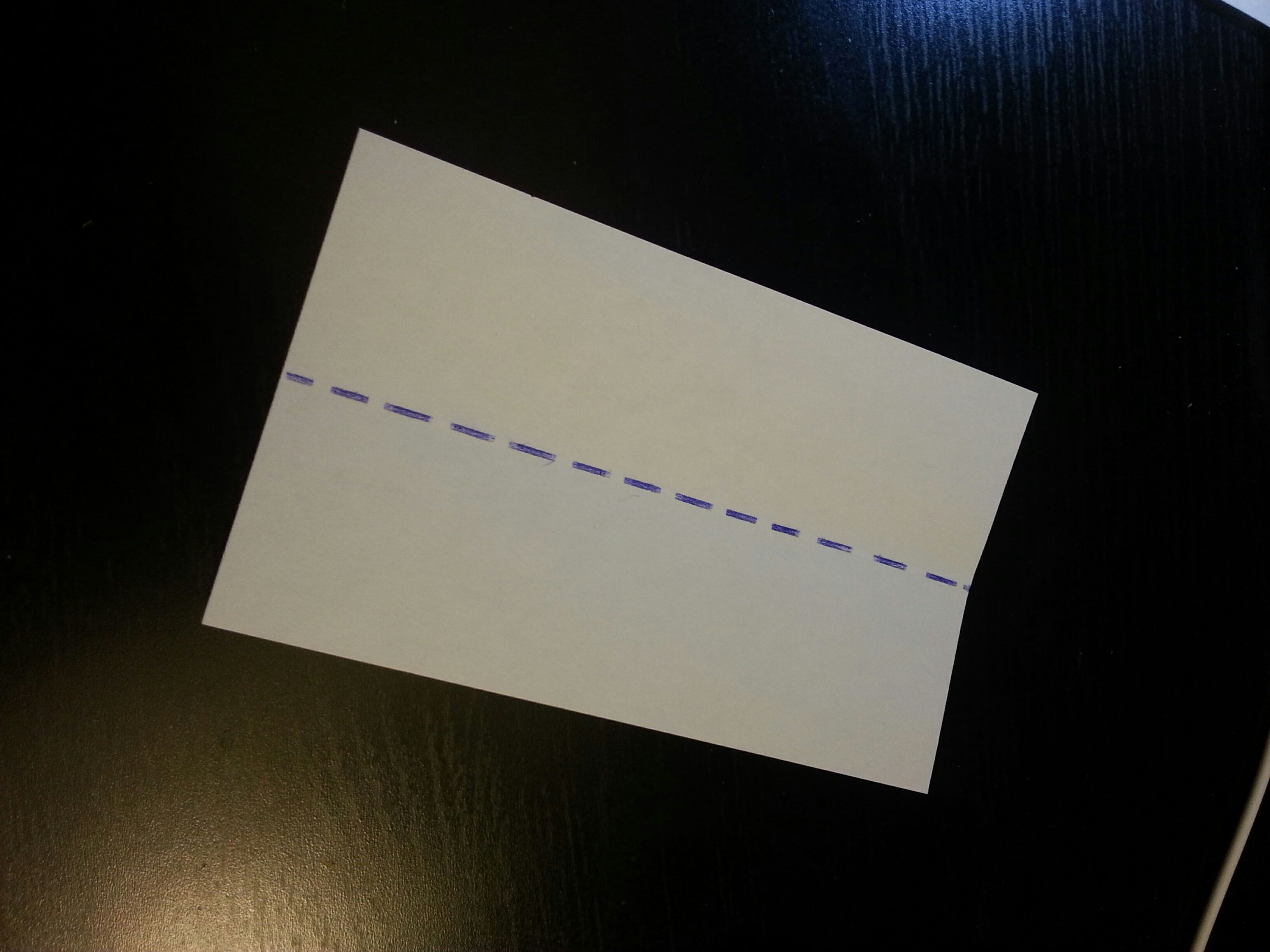 Picture of Fold in Half.