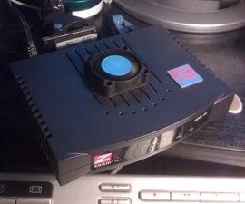 adsl modem cooling fan mod