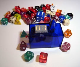 Build an electronic polyhedral die
