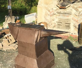 how to make a huge fabulous mega anvil