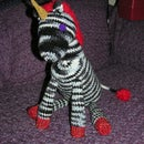 Crocheted Punk Unicorn Toy